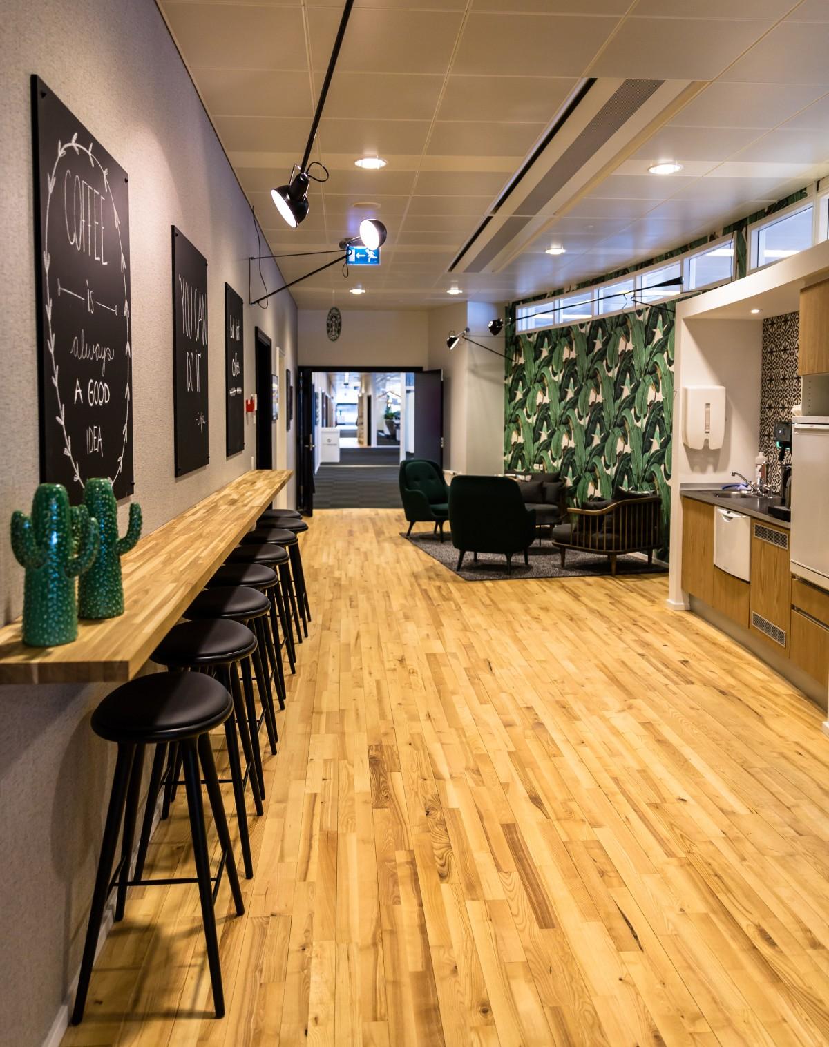 Vores største caféområde