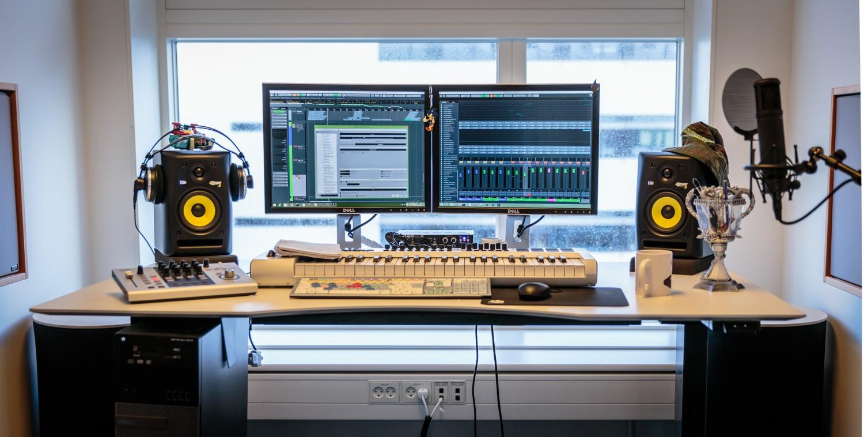 Audiodesignerens kontor